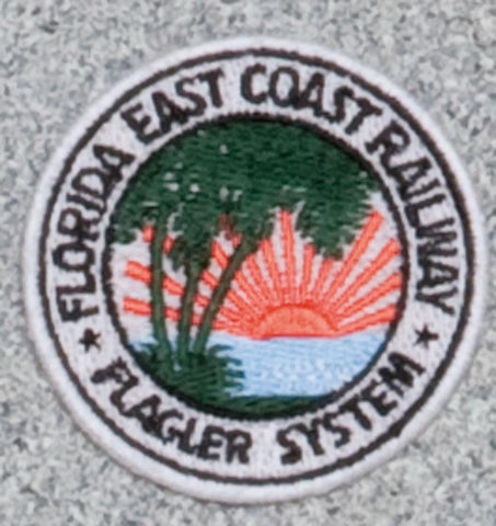 Florida East Coast Railroad Logo Patch