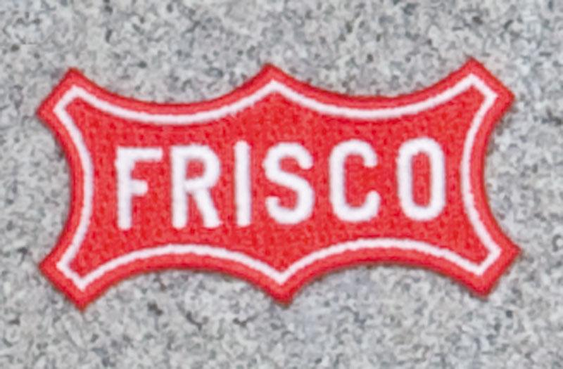 Frisco Railroad Logo Patch
