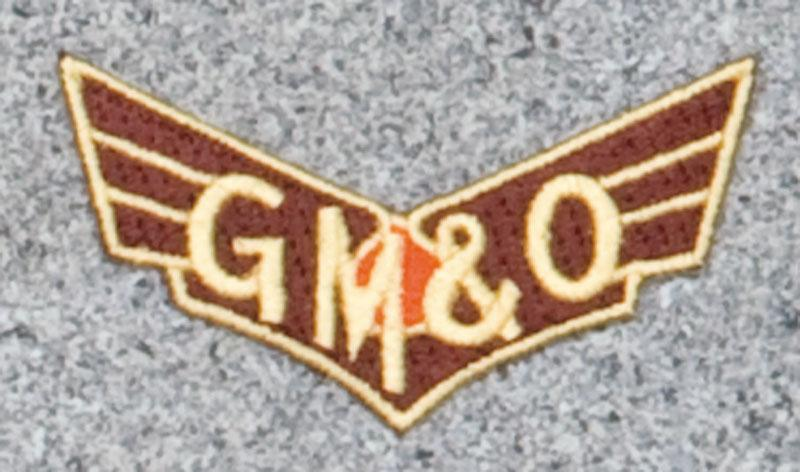 Gulf Mobile Ohio Railroad Logo Patch