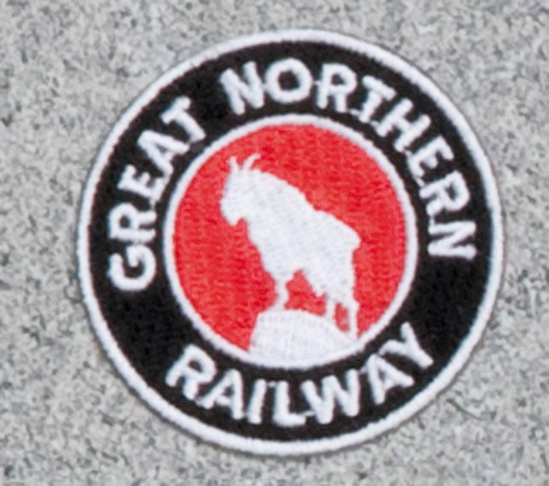 Great Northern Railroad Logo Patch