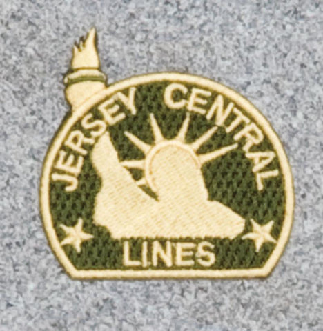 Jersey Central Railroad Logo Patch