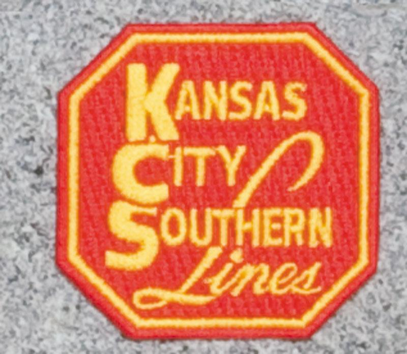 Kansas City Southern Railroad Logo Patch