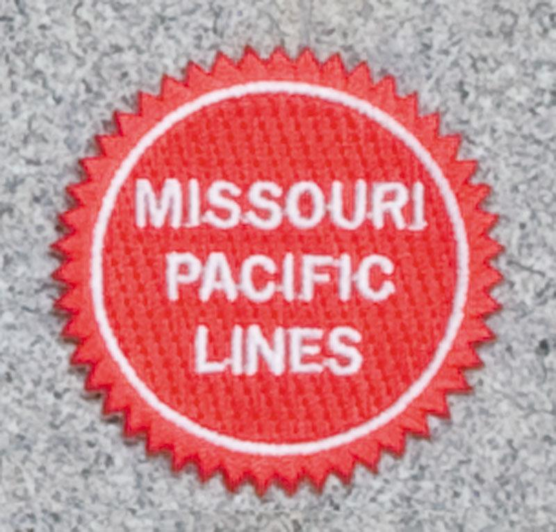 Missouri Pacific Railroad Logo Patch