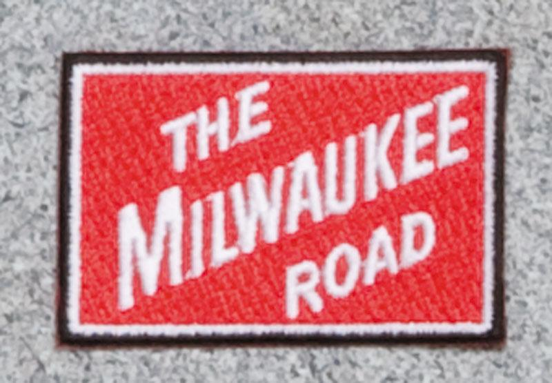 The Milwaukee Road Railroad Logo Patch