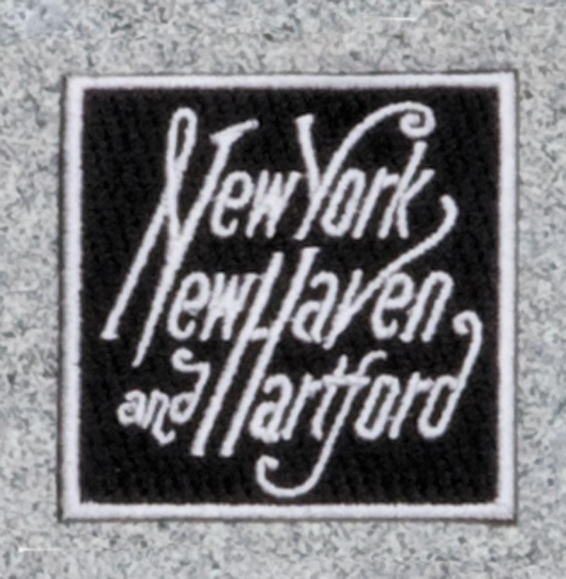New York New Haven and Hartford Railroad Logo Patch