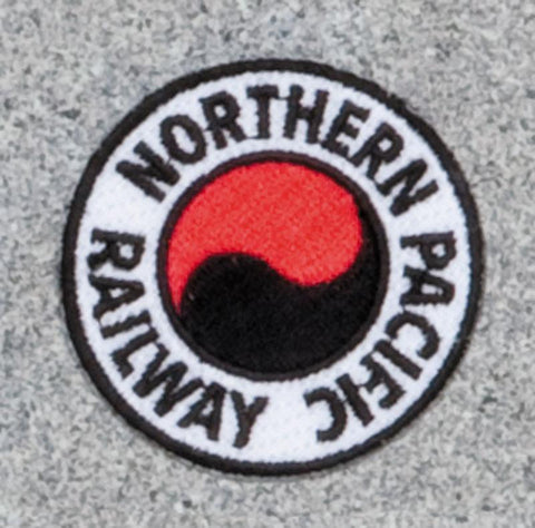 Northern Pacific Railroad Logo Patch