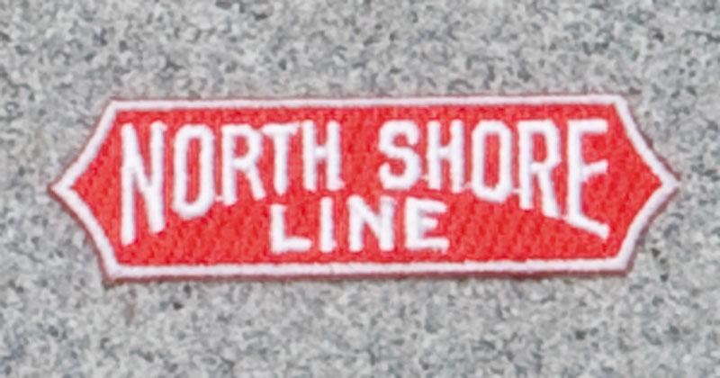 North Shore Line Railroad Logo Patch