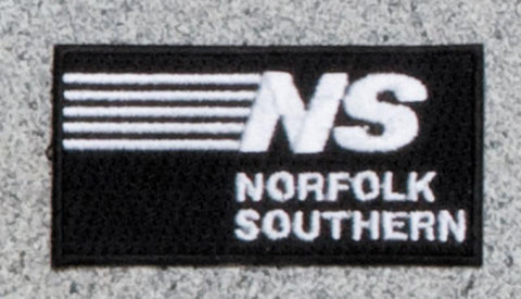 Norfolk Southern - Stripes Railroad Logo Patch