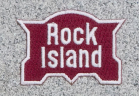 Rock Island Railroad Logo Patch