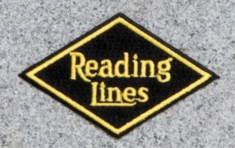 Reading Lines Railroad Logo Patch