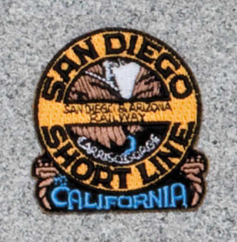 San Diego Short Line Railroad Logo Patch