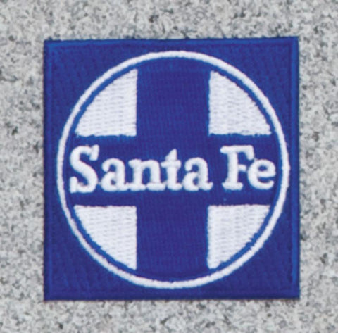 Santa Fe Railroad Logo Patch