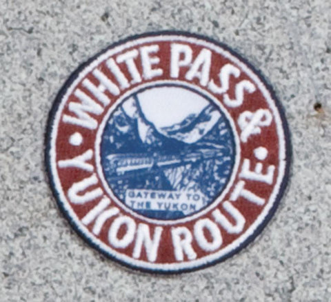 White Pass & Yukon Railroad Logo Patch