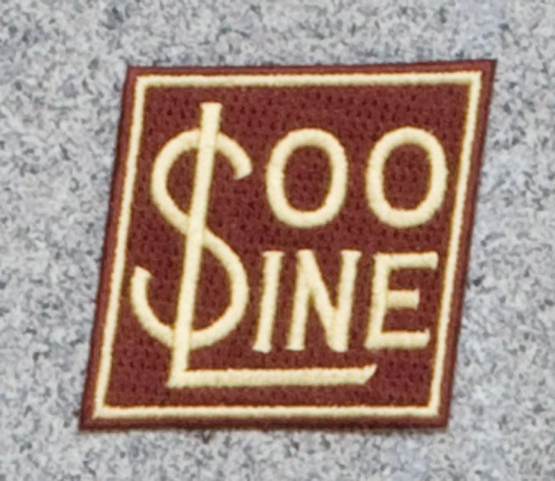 Soo Line Railroad Logo Patch
