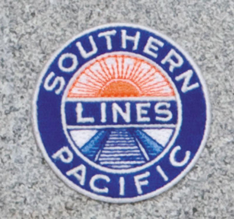 Southern Pacific Lines Railroad Logo Patch