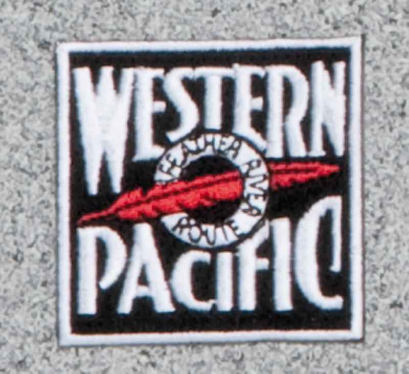 Western Pacific Railroad Logo Patch