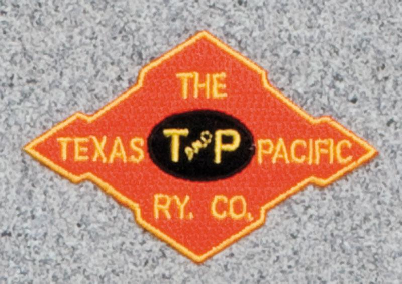 Texas Pacific Railroad Logo Patch