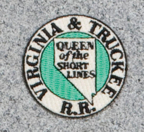 Virginia & Truckee Railroad Logo Patch