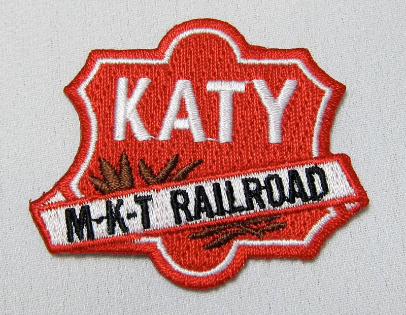 Katy M-K-T Railroad Logo Patch