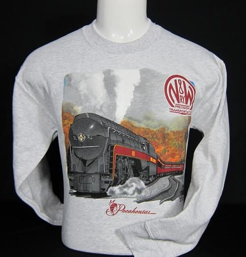 N&W #611 Precision Transportation Sweatshirt