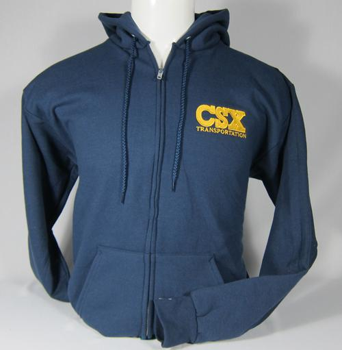 CSX Logo Zipper Sweatshirt