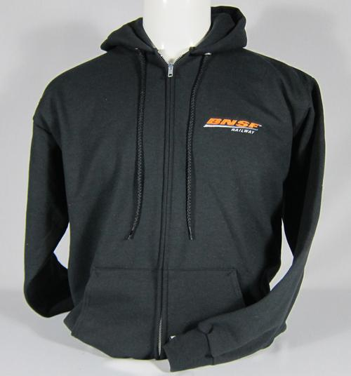 BNSF Logo Zipper Sweatshirt