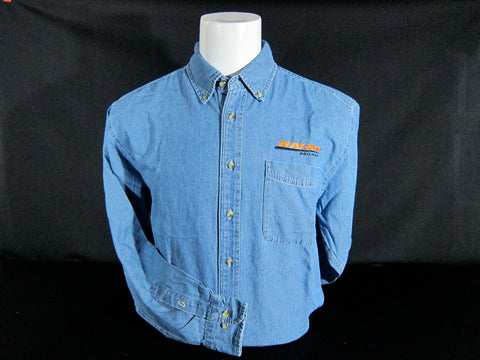 BNSF Denim Logo Shirt