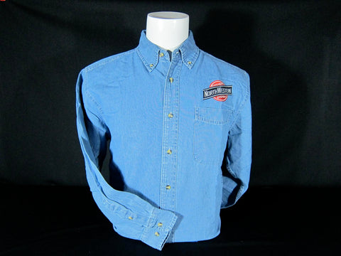 C&NW Embroidered Denim Shirt