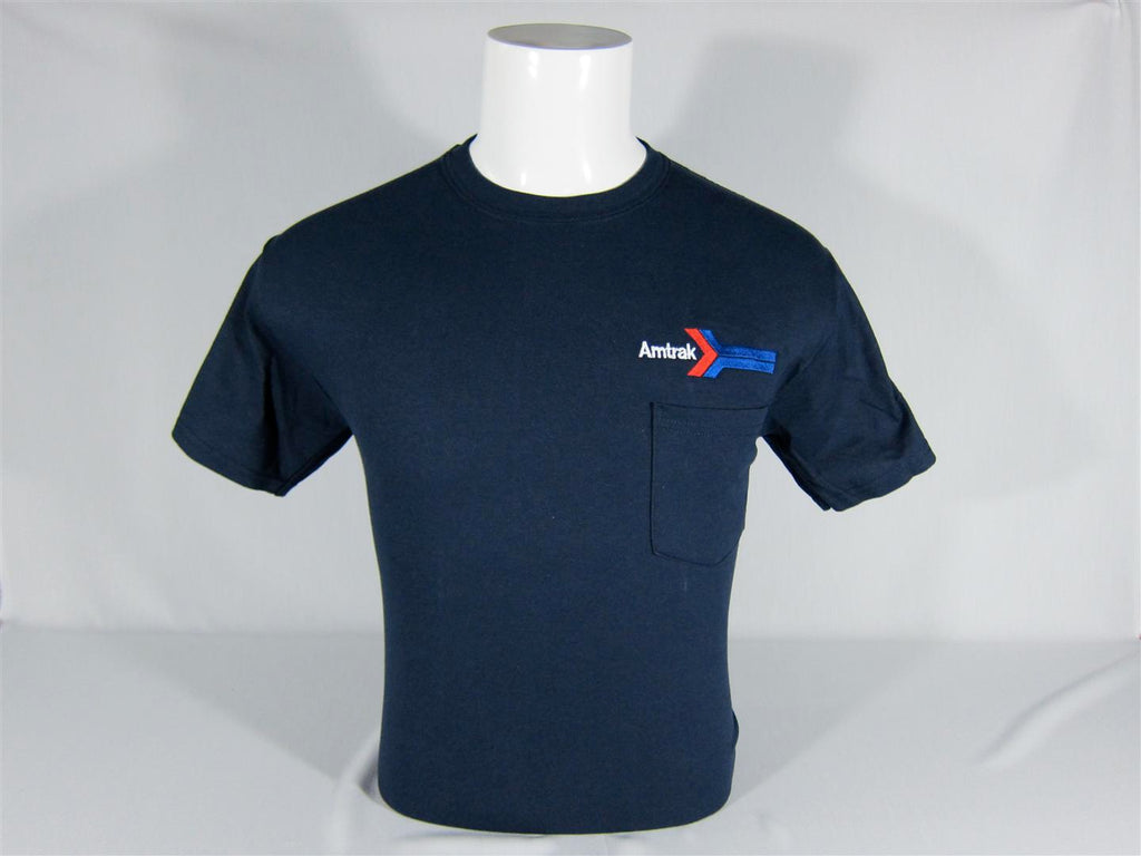 Amtrak Arrow Logo Pocket T-Shirt