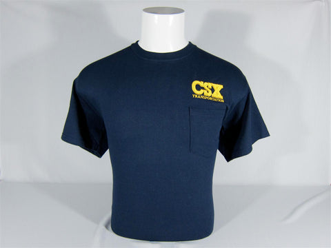 CSX Logo Pocket T-Shirt