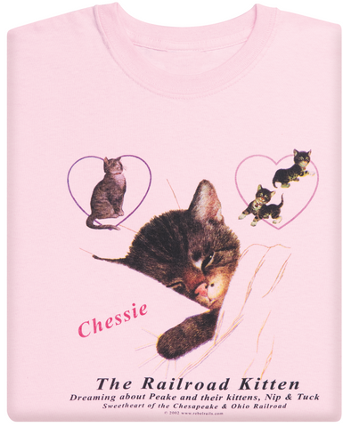 Chessie Youth Pink T-Shirt