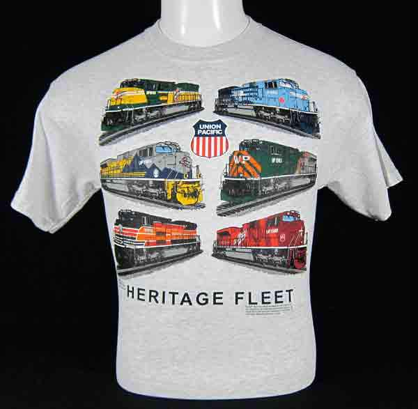 Union Pacific Heritage Fleet Collage T-Shirt