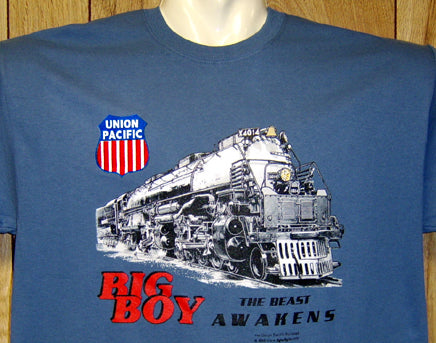 Big Boy 4014 Blue Tee Adult