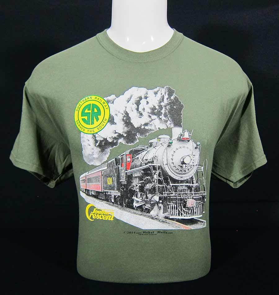 Southern Crescent 630 Steam Engine T-Shirt