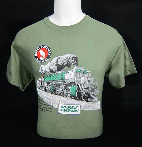 Great Northern 2-8-8-2 Steam Engine T-Shirt