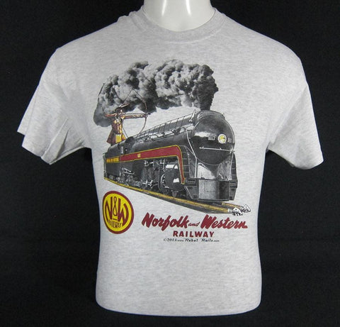 N&W 4-8-4 Streamlined Steam T-Shirt