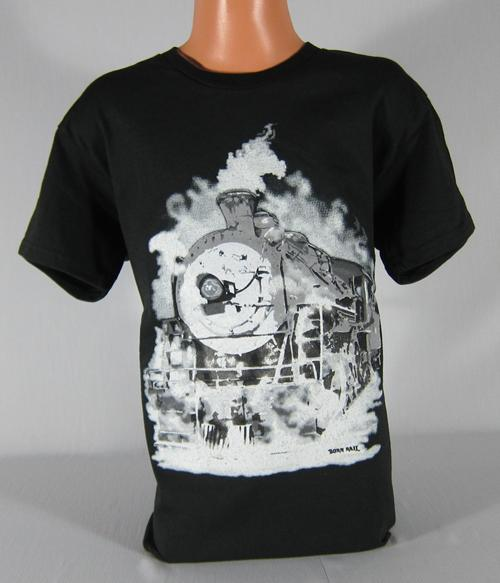 Ghostly Steam Train Youth T-shirt