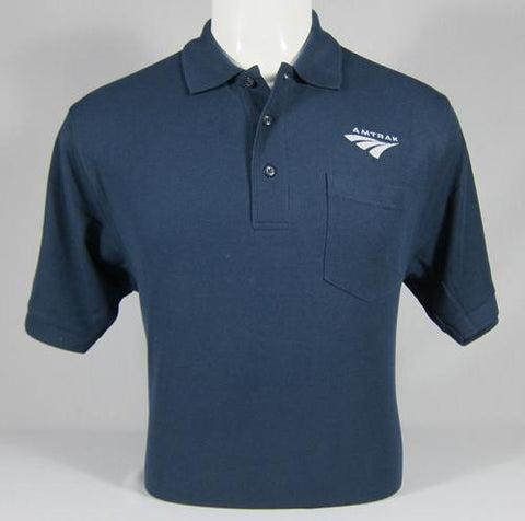 Amtrak Travelmark Polo Shirt