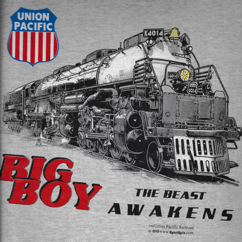 Union Pacific Big Boy Tee Adult