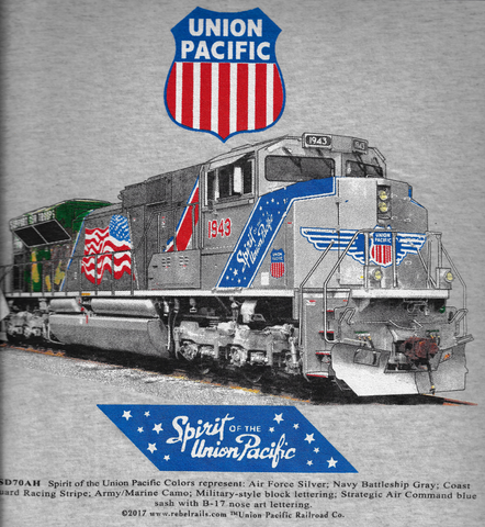 Spirit of the Union Pacific Tee Adult