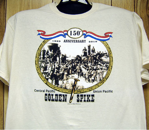 Golden Spike Celebration Tee Adult