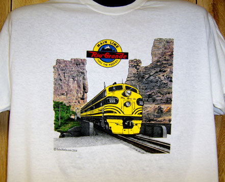 Rio Grande at Castle Gate Tee Adult