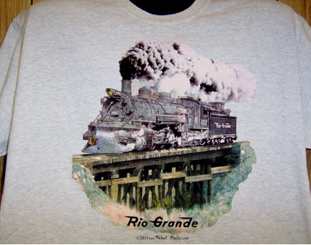 Rio Grande Narrow Gauge Tee Adult