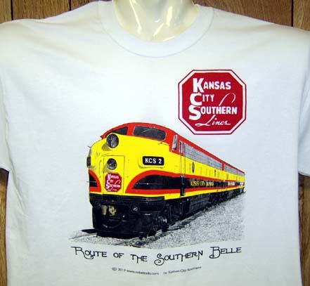 Kansas City Southern Heritage Tee Adult