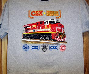 CSX 911 Honor Diesel Tee Adult