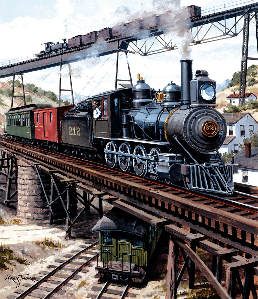 Locomotive GXB 14919 Puzzle