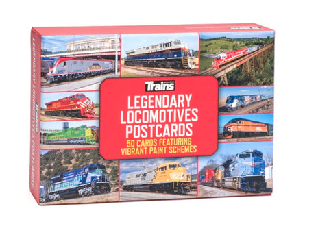Legendary Locomotives Postcards