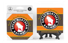 Great Northern Railway Logo Absorbent Ceramic Stone Coaster