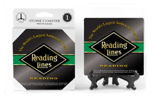 Reading Lines Logo Absorbent Ceramic Stone Coaster