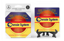 Chessie System Logo Absorbent Ceramic Stone Coaster
